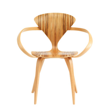CHCAC-EBONY BEECH: Customized Item of Cherner Armchair (CHCAC)