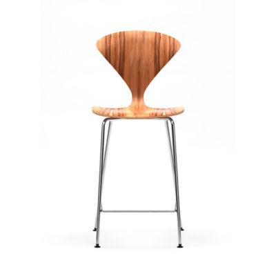 cherner stool with chrome metal base