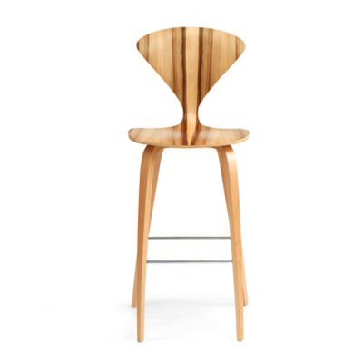 CHCSTW-B-CLASSIC WALNUT: Customized Item of Cherner Stool with Wood Base (CHCSTW)
