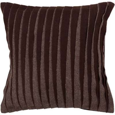 Picture for Handmade Contemporary Wool Pillow in Brown