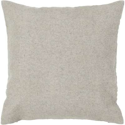 Picture for Handmade Contemporary Wool Pillow in Light Grey