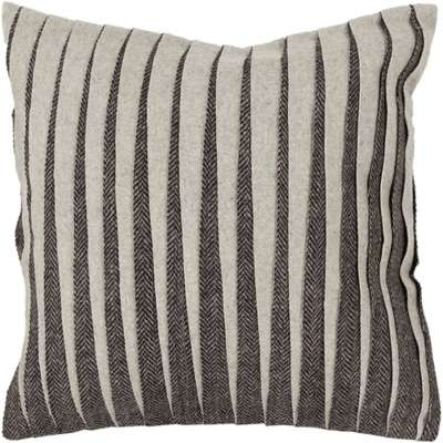 Picture for Handmade Contemporary Wool Pillow in Grey