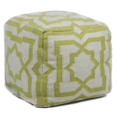 Picture for Hand-Knitted Contemporary Wool Pouf