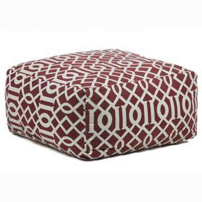Picture for Handmade Contemporary Printed Cotton Pouf