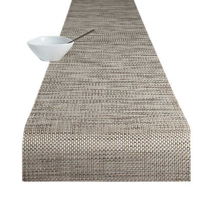 Picture of Basketweave Pattern Table Runner