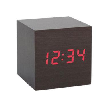 CLAPON-NATURAL: Customized Item of Clap On Alarm Cube Clock (CLAPON)