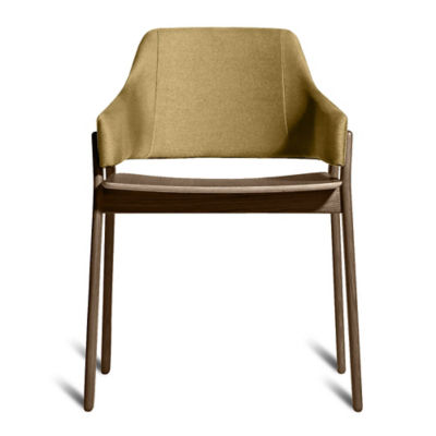 CLUTCHCH1-SMOKEANDOLIVE: Customized Item of Clutch Dining Chair by Blu Dot (CLUTCHCH1)