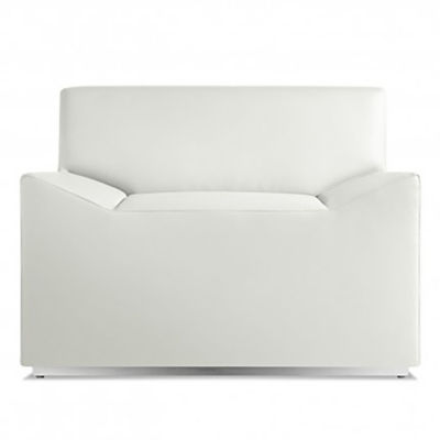 CO1SFLNGE-WHITE: Customized Item of Couchoid Lounge Chair by Blu Dot (CO1SFLNGE)