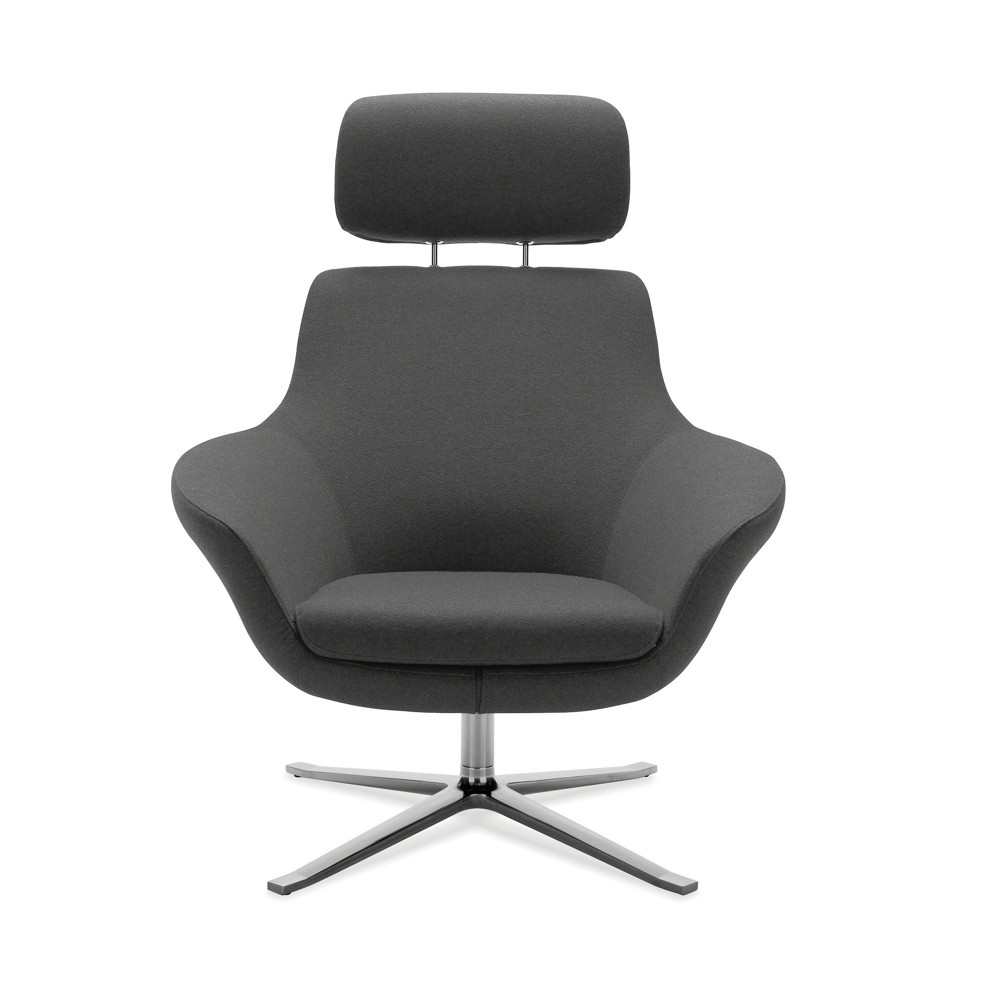 Steelcase lounge chairs - Picture Of Coalesse Bob Lounge Chair With Headrest By Steelcase