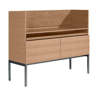 "Picture of Coalesse Denizen Secretary, 42"" High by Steelcase"