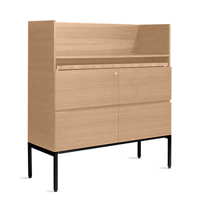 "Picture of Coalesse Denizen Secretary, 56"" High by Steelcase"
