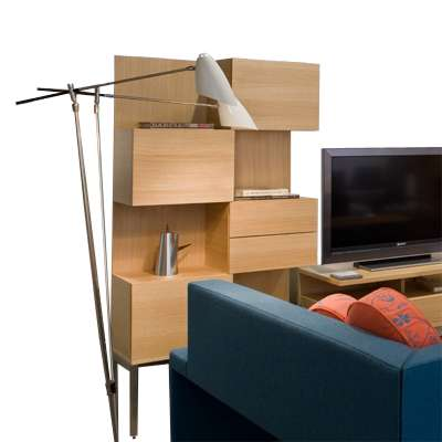 Picture for Coalesse Denizen Storage Tower, 35 in. Wide by Steelcase