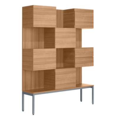 "Picture for Coalesse Denizen Storage Tower, 52"" wide by Steelcase"