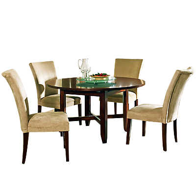 Collins 5 Piece Round Dining Table Set Smart Furniture