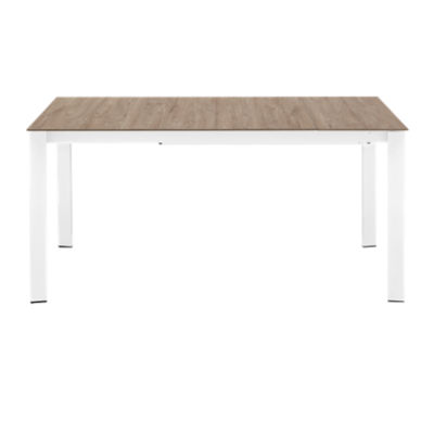 "Picture of Eminence W 63-83"" Extending Table with Wooden Legs by Connubia"