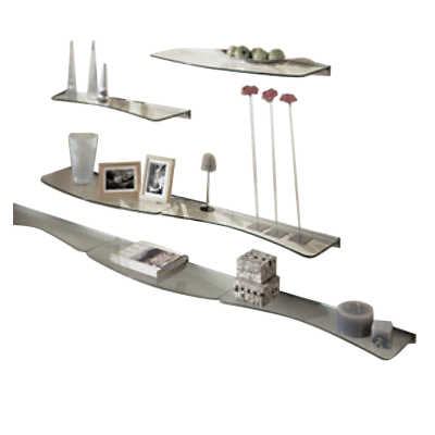 Picture of Concave or Convex Glass Shelf by Smart Furniture