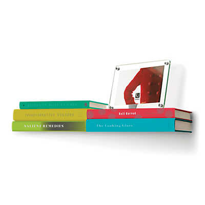 Picture of Conceal Floating Double Book Shelf by Umbra
