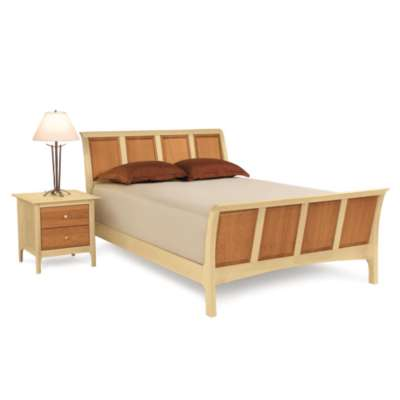 "Picture for Sarah Queen and Full Sleigh Bed with 45"" h Headboard and High Footboard by Copeland Furniture"