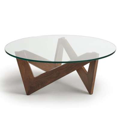 Picture for Check Round Glass Top Coffee Table by Copeland Furniture