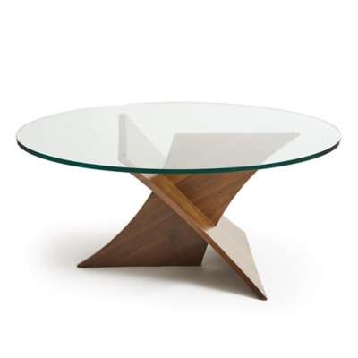 Picture for Planes Round Glass Top Coffee Table by Copeland Furniture