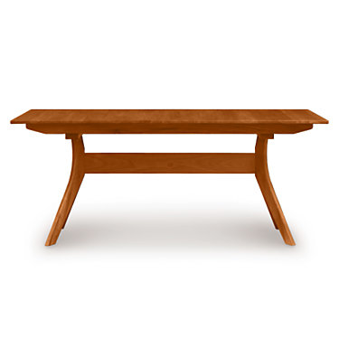 """CP-6-AUD-23-04: Customized Item of Audrey 84"""" Extension Trestle Table by Copeland Furniture (CP-6-AUD-23)"""
