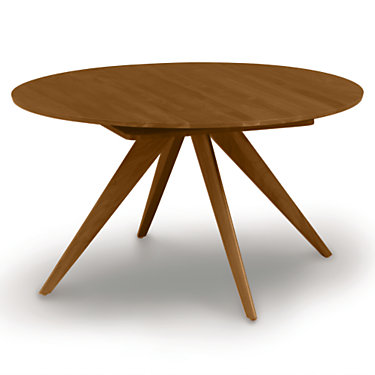 "CP-6-CRE-48-43: Customized Item of Catalina 48/72"" w Extension Round Table by Copeland Furniture (CP-6-CRE-48)"