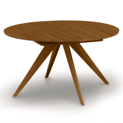 "CP-6-CRE-48-53: Customized Item of Catalina 48/72"" w Extension Round Table by Copeland Furniture (CP-6-CRE-48)"