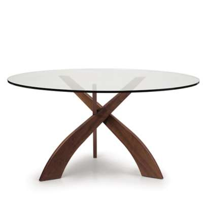 Picture for Entwine Round Glass Top Dining Table by Copeland Furniture