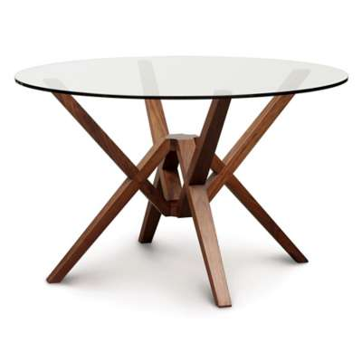 Picture for Exeter Round Table with Glass Top by Copeland Furniture