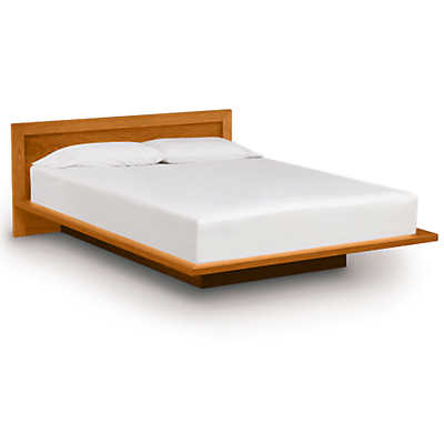 "Picture of Moduluxe 29"" High Bed with Veneer Headboard by Copeland Furniture"