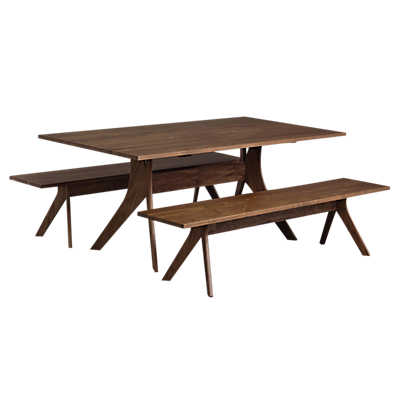 "Picture of Audrey 72"" Dining Table by Copeland Furniture"