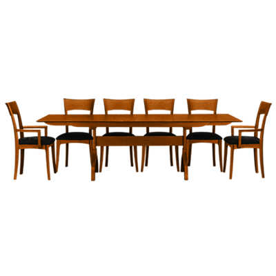 sarah trestle extension table by copeland furniture