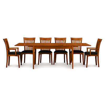 Picture of Sarah 4-Leg Extension Table by Copeland Furniture