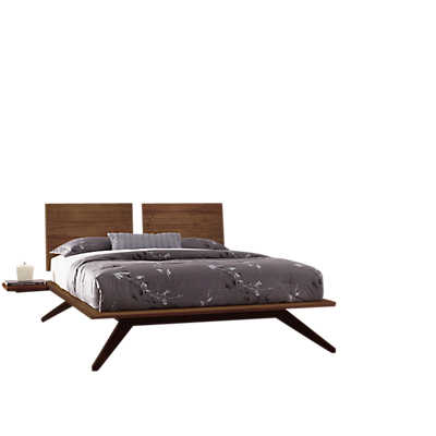 Picture of Astrid Queen Bedroom Set in Walnut by Copeland Furniture