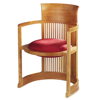 Picture of Frank Lloyd Wright Taliesin Barrel Chair