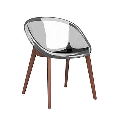 Picture of Bloom Wooden Chair by Calligaris