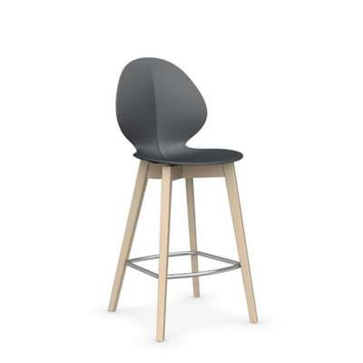 Picture for Basil Wood Base Stool by Calligaris