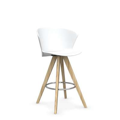 Picture for Bahia Wood Base Stool by Calligaris