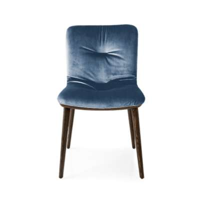 Picture for Annie Soft Upholstered Wooden Chair by Calligaris