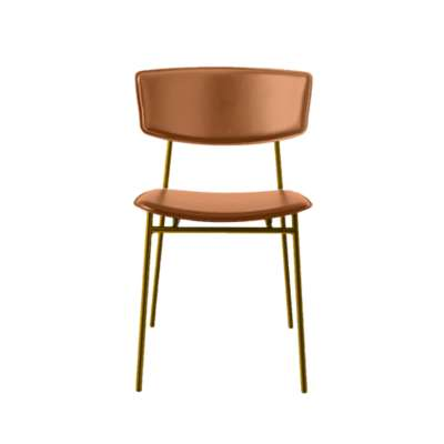 Picture for Fifties Metal Leather Chair by Calligaris