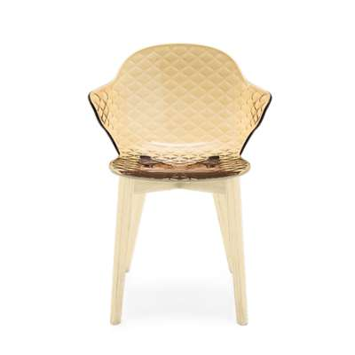 Picture for Saint Tropez W Chair-4 Leg Wooden Base by Calligaris