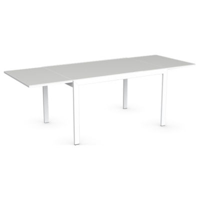 Key extrawhite table smart furniture for Calligaris key table