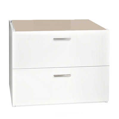 Picture of Jersey 2-Drawer Cabinet by Calligaris