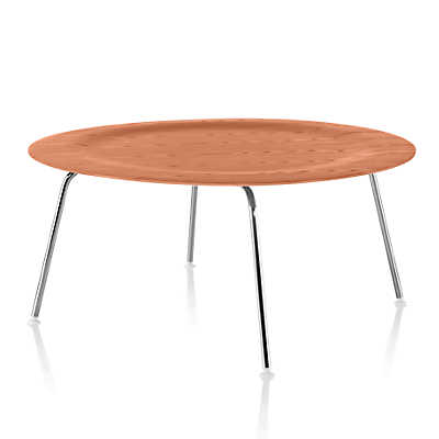 Picture of Eames Molded Plywood Coffee Table with Metal Base by Herman Miller