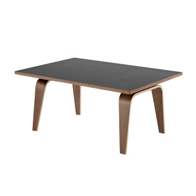 CTW12248LBKOU: Customized Item of Eames Rectangular Coffee Table by Herman Miller (CTW1)