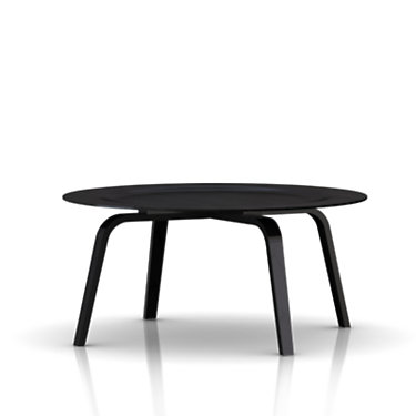 CTW-EBONY: Customized Item of Eames Molded Plywood Coffee Table by Herman Miller (CTW)