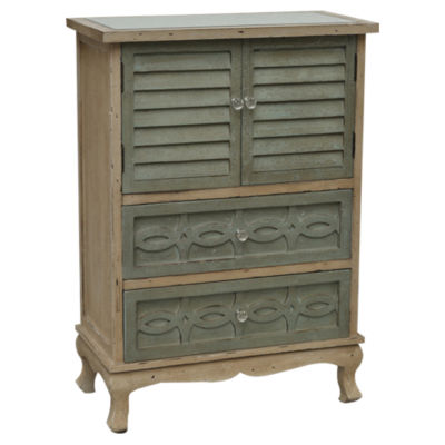 Picture of Biscayne 2-Drawer 2-Door Cottage Cabinet