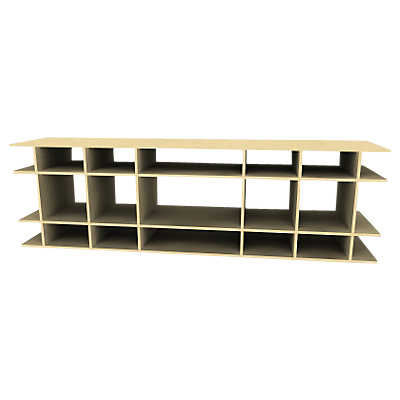 Picture of 7' Wide Extra Deep Display Shelf by Smart Furniture