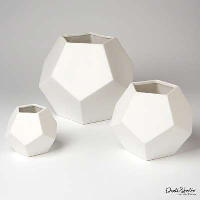 Picture for Faceted Vase by Global Views