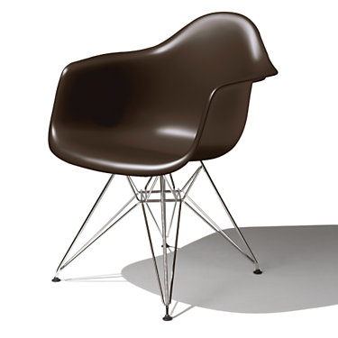 DAR474TE8: Customized Item of Eames Molded Plastic Armchair by Herman Miller (DAR)